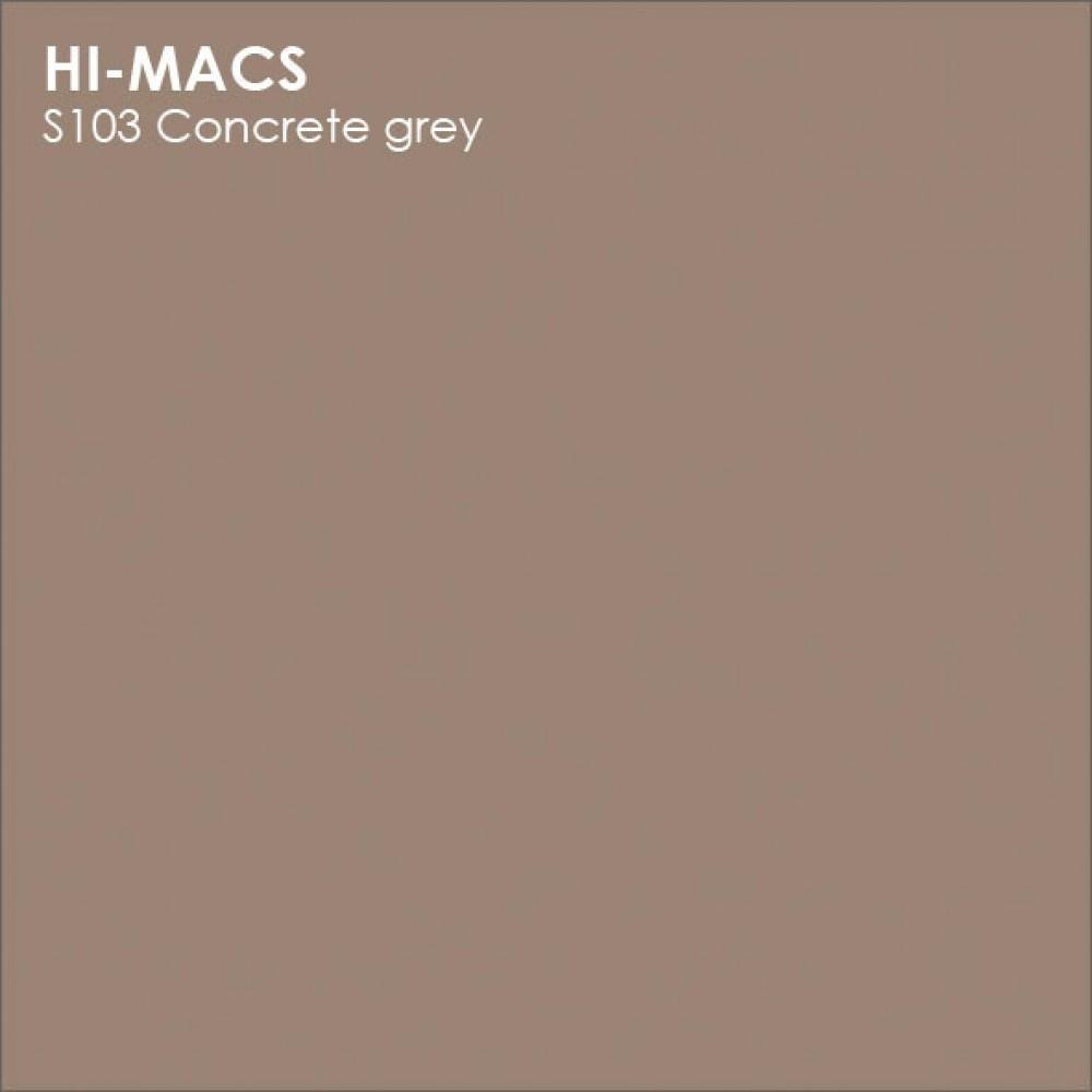LG Hi-macs S103 Concrete Grey