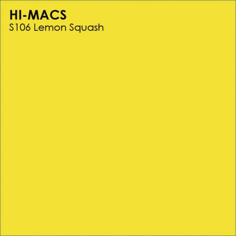 LG Hi-macs S106 Lemon Squash