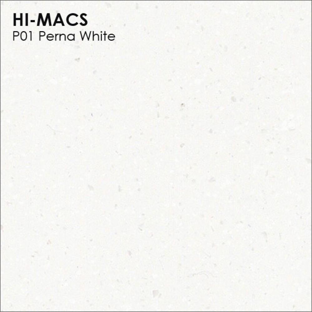 LG Hi-macs P001 Perna White