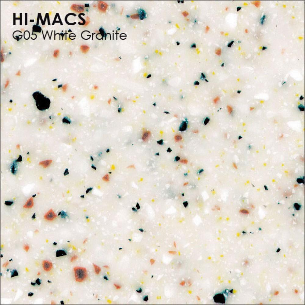 LG Hi-macs G05 White