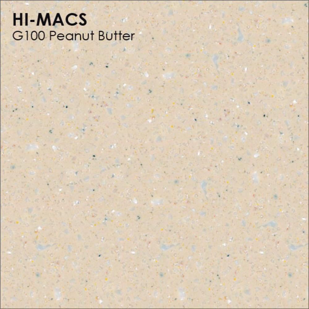 LG Hi-macs G100 Peanut Butter