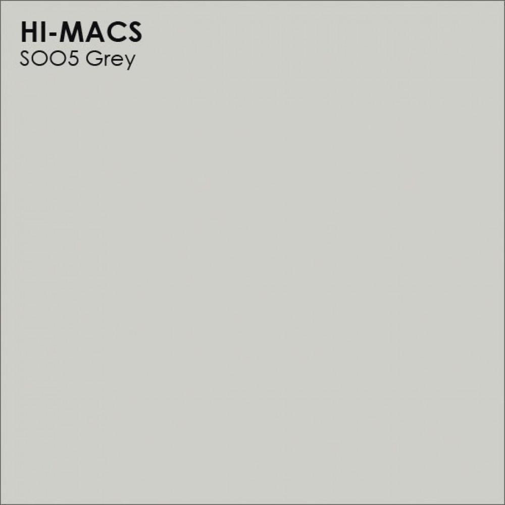 LG Hi-macs S005 Grey