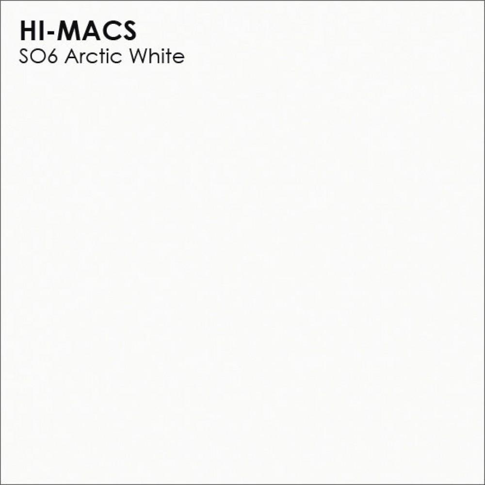 LG Hi-macs S006  Arctic White