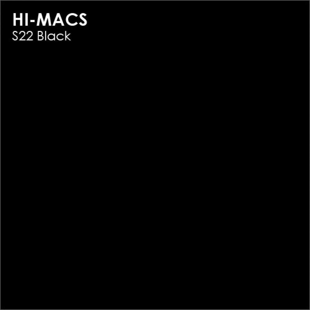 LG Hi-macs S022 Black