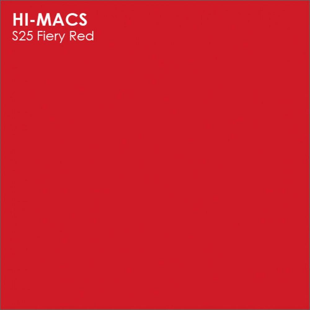 LG Hi-macs S025 Fiery Red