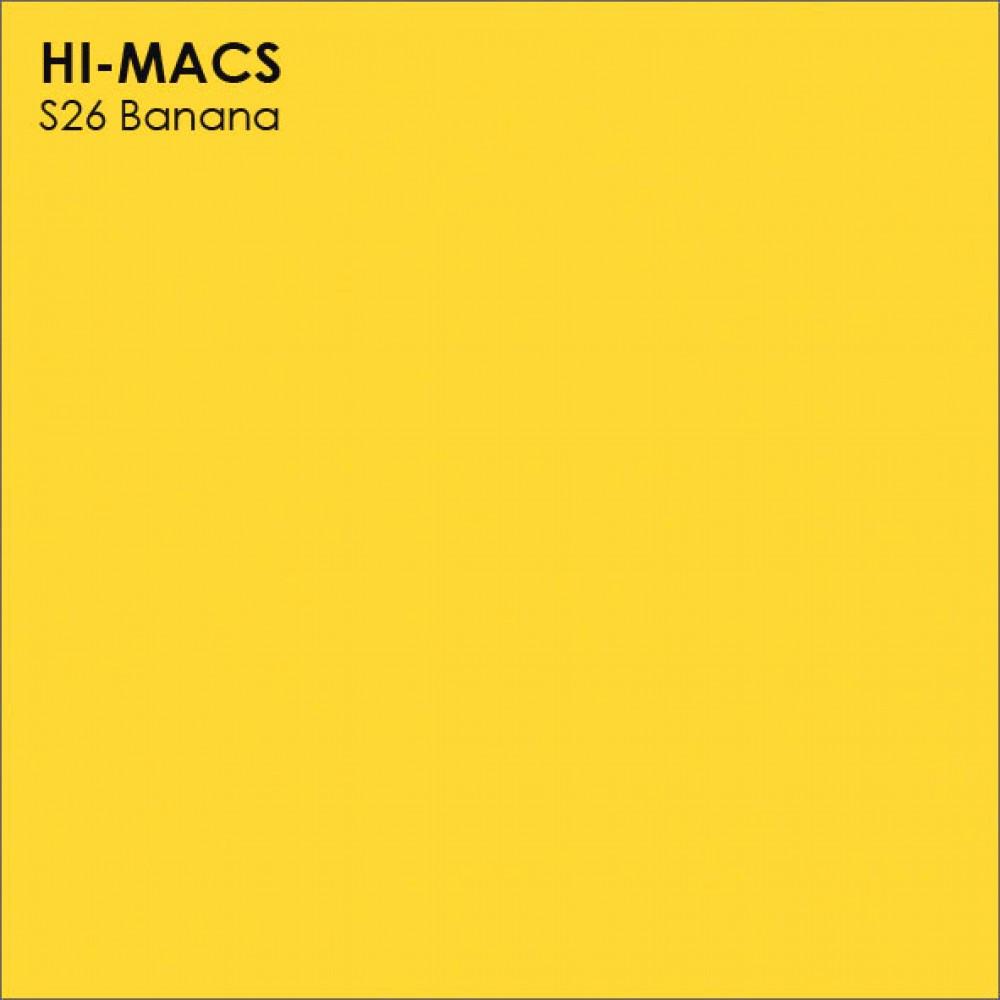 LG Hi-macs S026 Banana