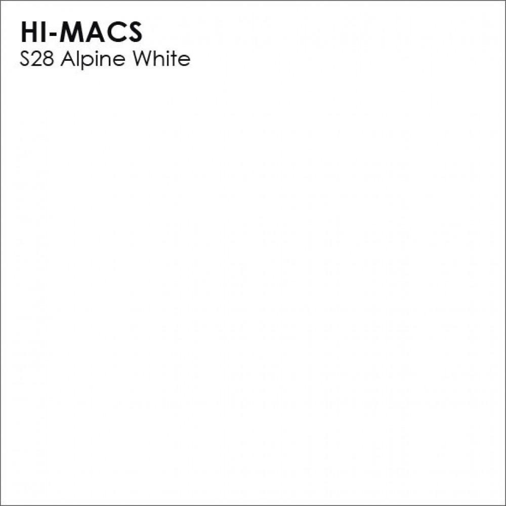 LG Hi-macs S028 Alpine White