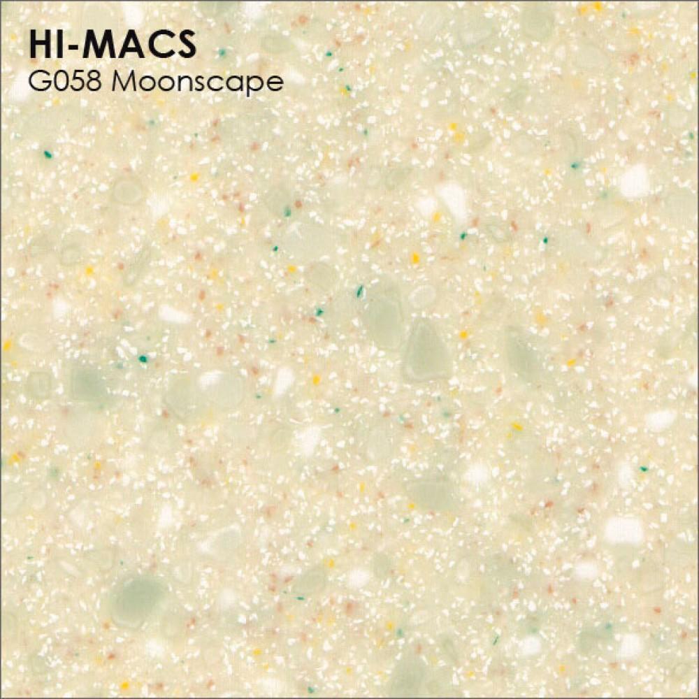 LG Hi-macs G058 Moonscape