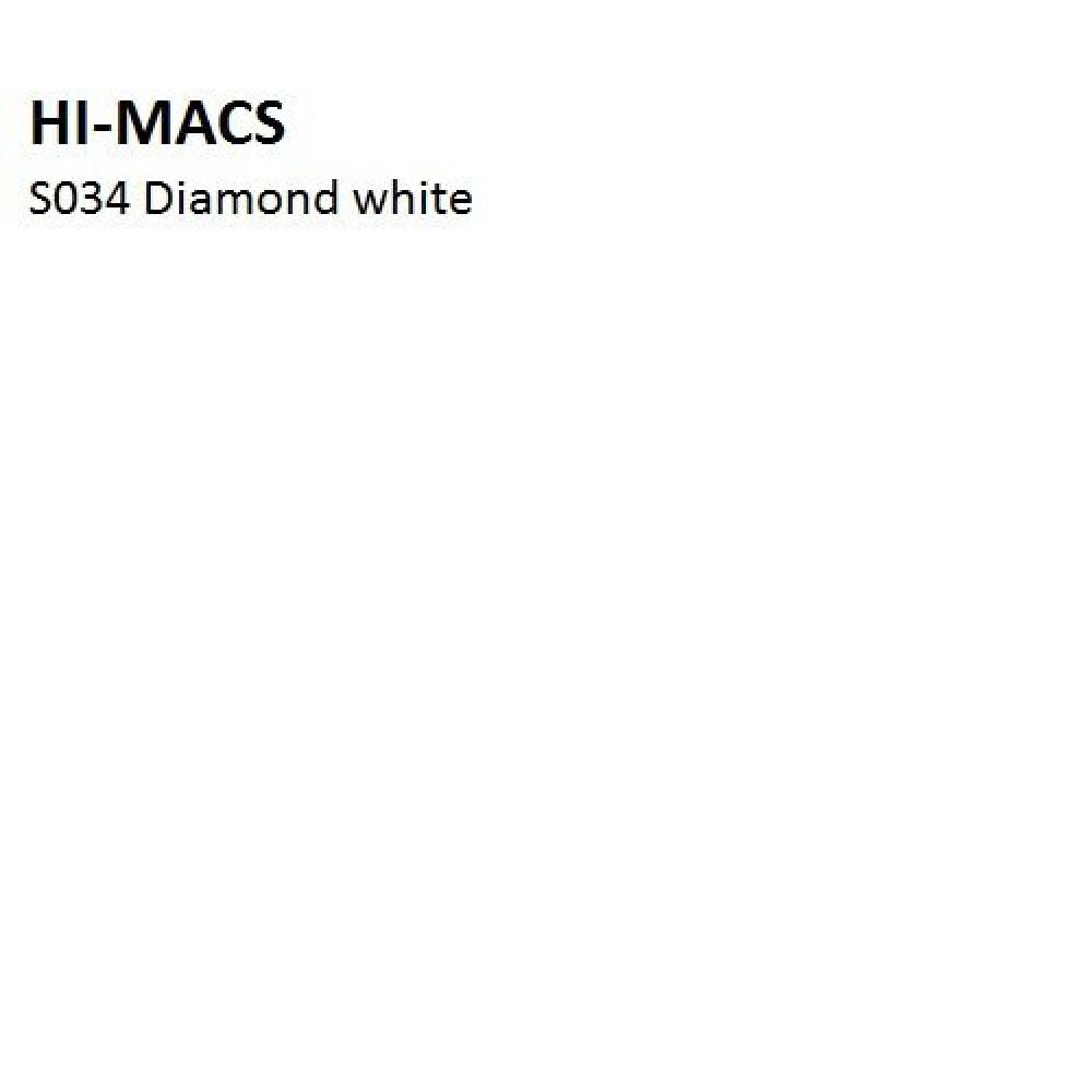 LG Hi-macs S34  ☼ DIAMOND WHITE